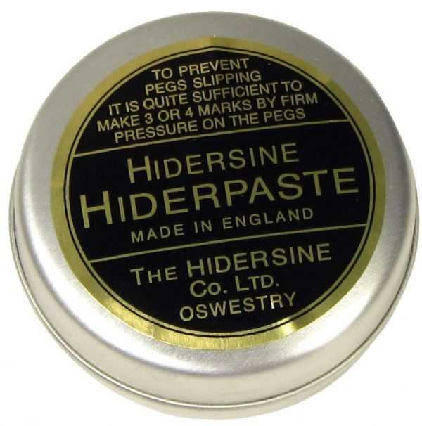 HIDERSINE PEG PASTE, STOP SLIPPING PEGS, VIOLIN, VIOLA, CELLO, FROM UK!